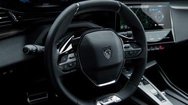 2021 Peugeot 308 - steering wheel