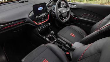 Ford Fiesta hatchback dashboard