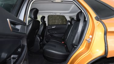 There's plenty of knee and headroom for passengers in the rear seats