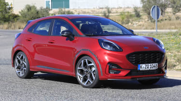 2020 Ford Puma ST - front 3/4 cornering view