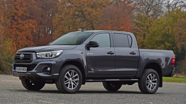 Toyota Hilux pickup front 3/4 static