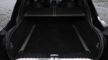 Aston Martin DBX prototype boot