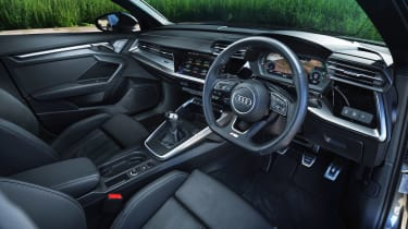 Audi A3 Sportback hatchback steering wheel