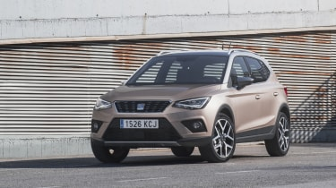 The SEAT Arona is the Spanish carmaker's entry into the compact crossover SUV field