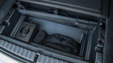 BMW iX SUV boot storage