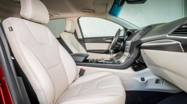 Leather seats are fitted to Titanium, Sport and Vignale models