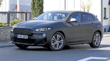 BMW X2 facelift driving