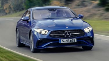 2021 Mercedes CLS - front 3/4 driving