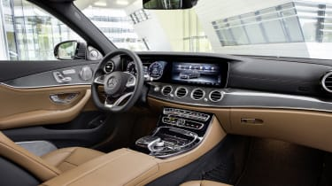 Going hybrid doesn't mean you have to sacrifice any of the traditional Mercedes luxury and style