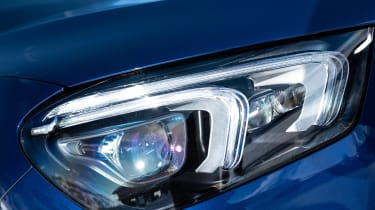 Mercedes GLE Coupe SUV headlights
