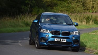 The BMW X6 M is one of the fastest SUVs on sale in the world