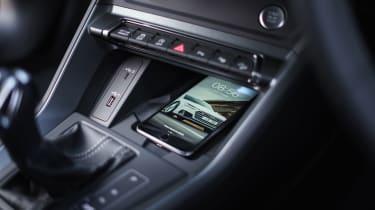 Audi Q3 Sportback SUV - centre console
