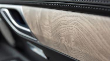 Genesis GV80 SUV wood trim
