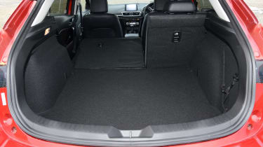 And though the rear seats fold flat, the boot has very few of the clever features that make rivals easy to live with
