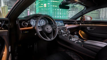 Bentley Continental GT V8 interior