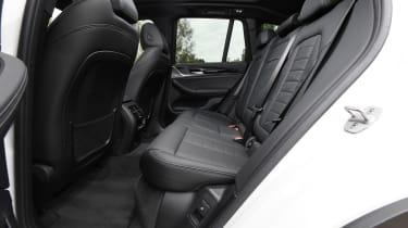 BMW iX3 SUV rear seats