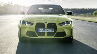2021 BMW M4 Competition Coupe - front view dynamic