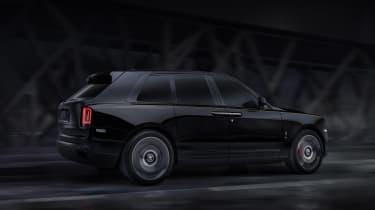 Rolls-Royce Cullinan Black Badge driving
