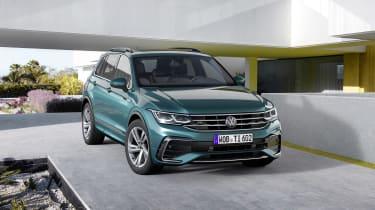 Facelifted Volkswagen Tiguan R-Line