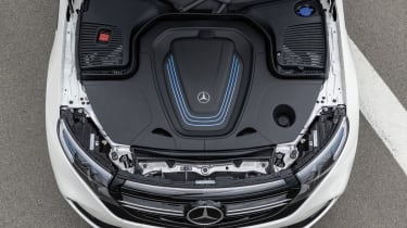 2019 Mercedes EQ C under bonnet
