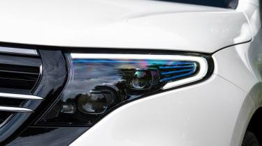Mercedes EQC SUV headlights