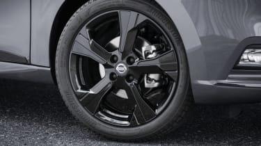 Nissan Micra N-Tec - front wheel close up