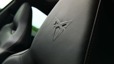 Cupra Leon hatchback front seats