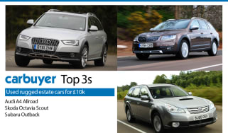 Top 3 used rugged estates for £10,000