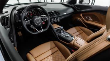 2019 Audi R8 Spyder interior