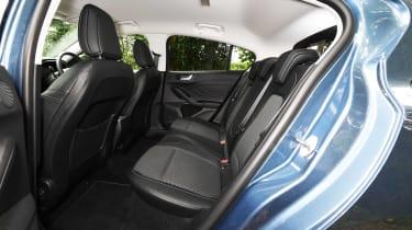 Ford Focus hatchback rear seats