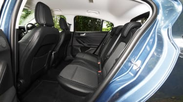 Ford Focus hatchback rear seats