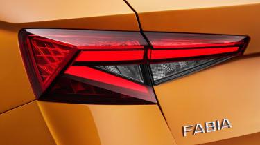2021 Skoda Fabia - exterior detail rear lights