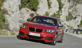 BMW 2 Series 2014 front quarter tracking