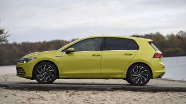 2020 Volkswagen Golf - side view static