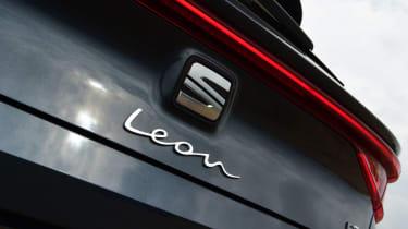 SEAT Leon hatchback - boot badge