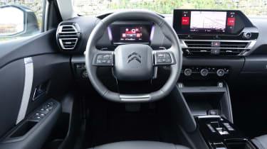Citroen C4 hatchback interior