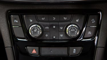 The Mokka X is available with a host of features, including a heated steering wheel for cold mornings