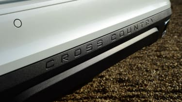 Volvo V60 Cross Country - rear bumper