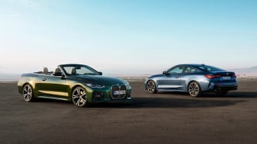 2020 BMW 4 Series Convertible and coupe