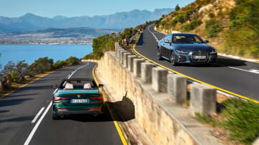 2020 BMW 4 Series Convertible and coupe - driving