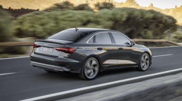 2020 Audi A3 Saloon - rear 3/4 dynamic view