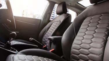Ford Fiesta Vignale hatchback front seats
