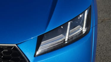 LED matrix headlights are an optional extra