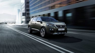 The 5008 promises to have some of the ability of a four-wheel-drive SUV thanks to Peugeot's 'Grip Control'.