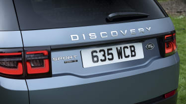 Land Rover Discovery Sport P300e tailgate