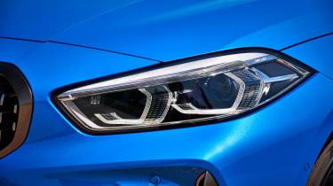 BMW M135i headlight