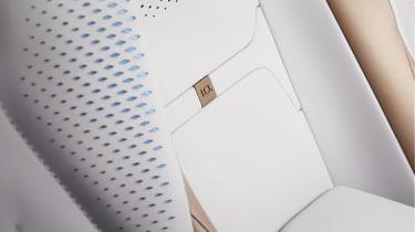 Volkswagen ID. Space Vizzion concept seat detailing