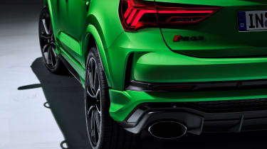 Audi RS Q3 Sportback rear end detail