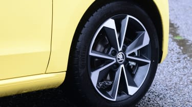 Skoda Citigo e iV hatchback alloy wheels