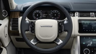 Range Rover Westminster Edition interior